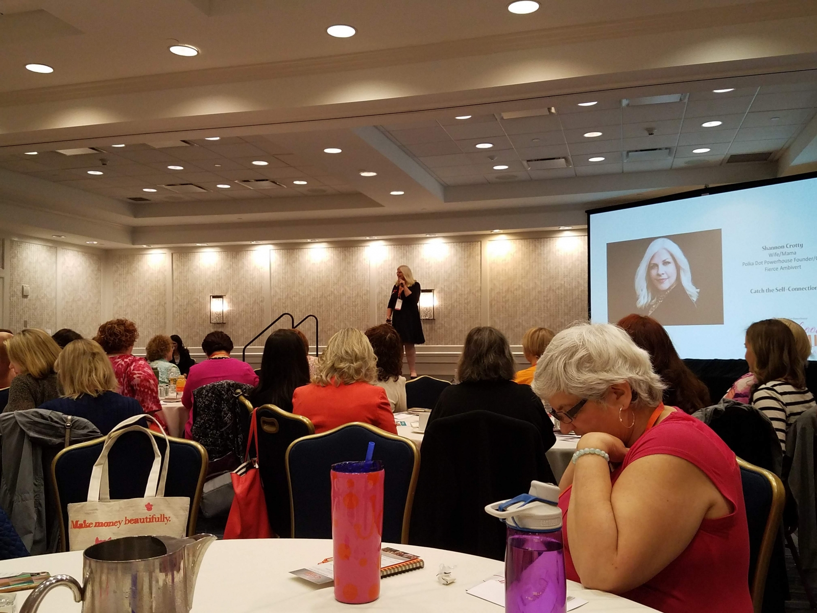 PDP founder, Shannon Crotty welcomes the 2019 Sisterhood Summit attendees