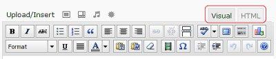 WordPress Editing Icons