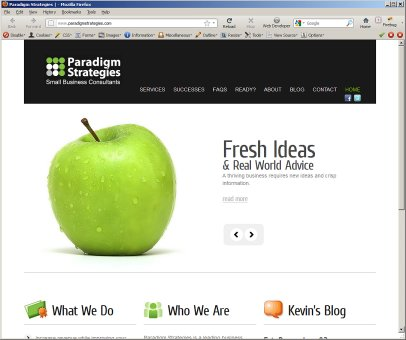 Paradigm Strategies Debuts Fresh, New Look