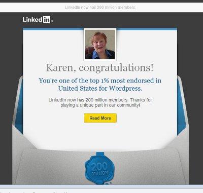 Top 1% Endorsed in U.S. for WordPress