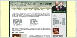 Bodkin & Mason HTML website