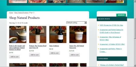 MWC natural produt\cts online store