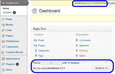 Recent WordPress Upgrades
