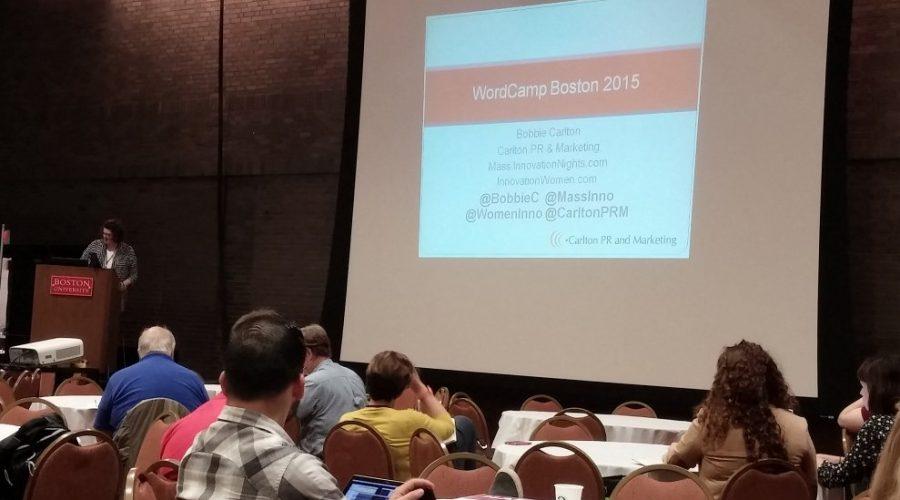2015 Boston WordCamp