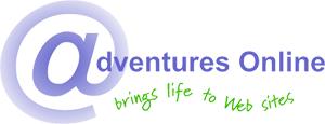 Adventures Online Web Design logo